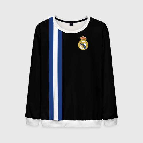 Мужской свитшот 3D Real Madrid Line Collection