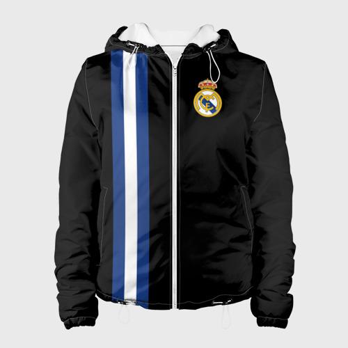 Женская куртка 3D Real Madrid Line Collection