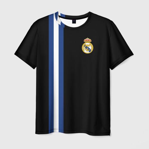 Мужская футболка 3D Real Madrid Line Collection