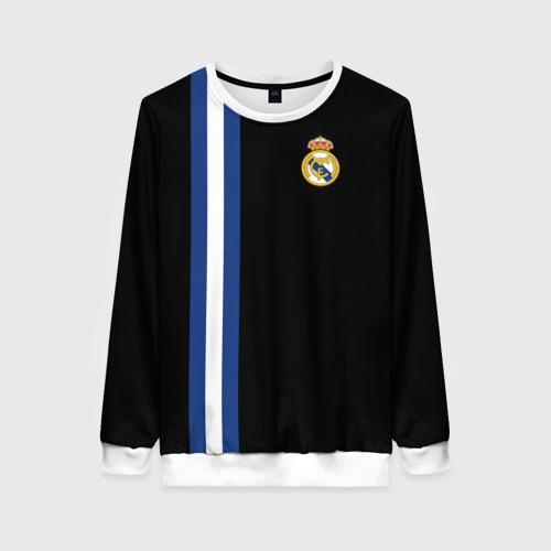 Женский свитшот 3D Real Madrid Line Collection