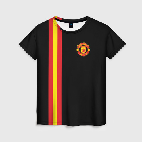 Женская футболка 3D Manchester Line Collection