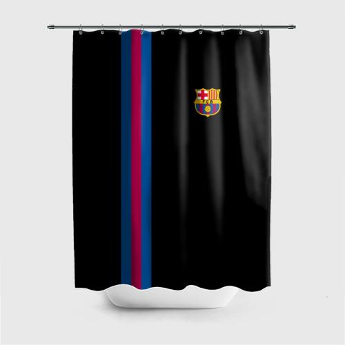Штора 3D для ванной FC Barcelona Line Collection