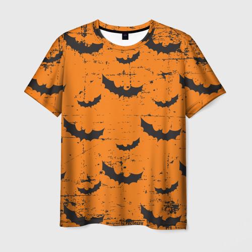 Мужская футболка 3D Летучая мышь