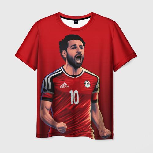 Мужская футболка 3D Мохамед Салах