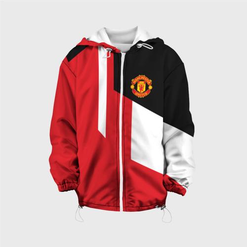 Детская куртка 3D Manchester United 2018 New