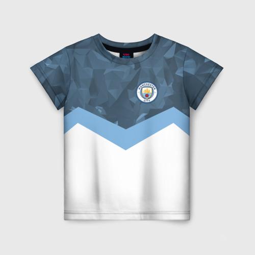 Детская футболка 3D Manchester city 2018 Sport