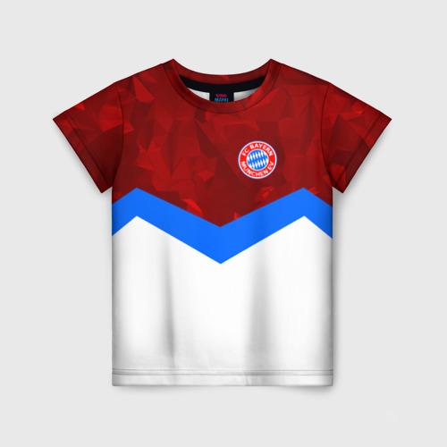 Детская футболка 3D ФК Бавария 2018