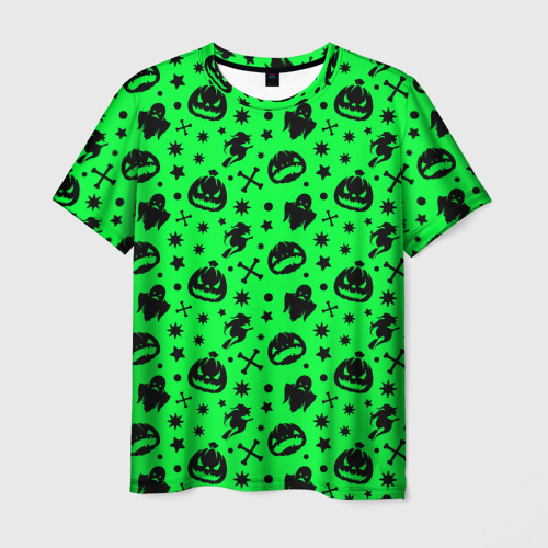 Мужская футболка 3D Хэллоуин кислота