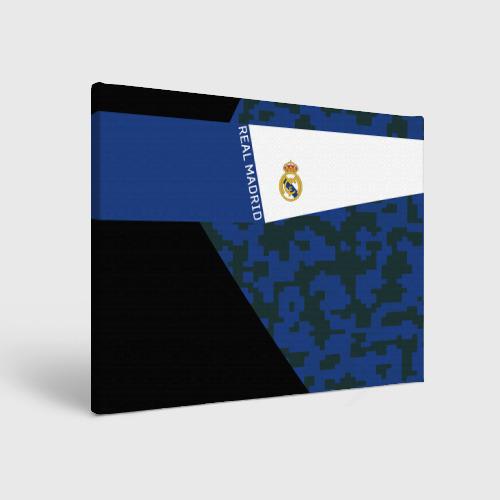 Холст прямоугольный Real Madrid 2018 Sport Version
