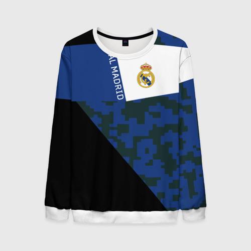 Мужской свитшот 3D Real Madrid 2018 Sport Version
