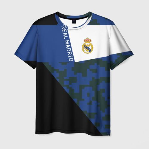 Мужская футболка 3D Real Madrid 2018 Sport Version