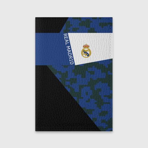Обложка для паспорта матовая кожа Real Madrid 2018 Sport Version