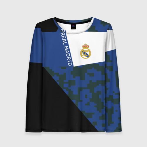 Женский лонгслив 3D Real Madrid 2018 Sport Version