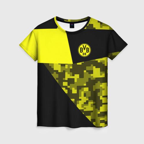 Женская футболка 3D Borussia Dortmund 2018 Sport