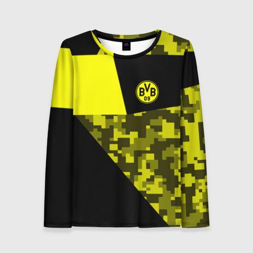 Женский лонгслив 3D Borussia Dortmund 2018 Sport