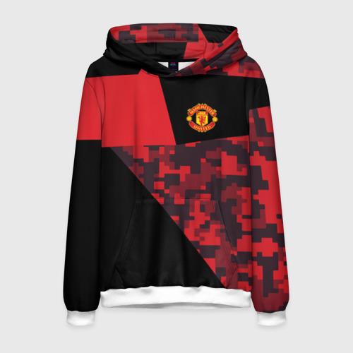 Мужская толстовка 3D Manchester United 2018 Sport
