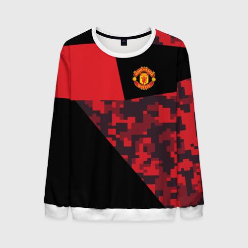 Мужской свитшот 3D Manchester United 2018 Sport