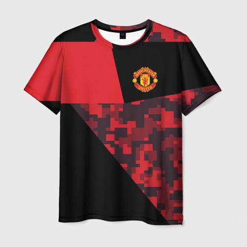 Мужская футболка 3D Manchester United 2018 Sport