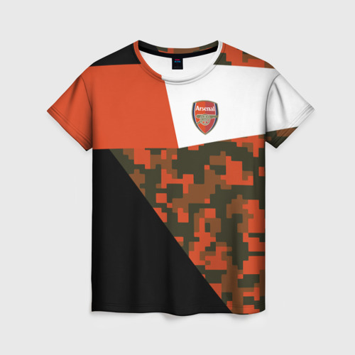 Женская футболка 3D FC Arsenal 2018 Sport