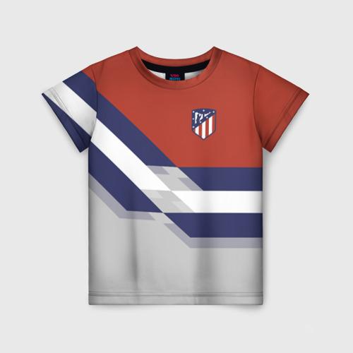 Детская футболка 3D Атлетико Мадрид 2018