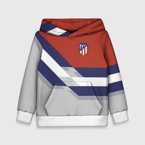 Детская толстовка 3D Атлетико Мадрид 2018