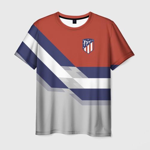 Мужская футболка 3D Атлетико Мадрид 2018