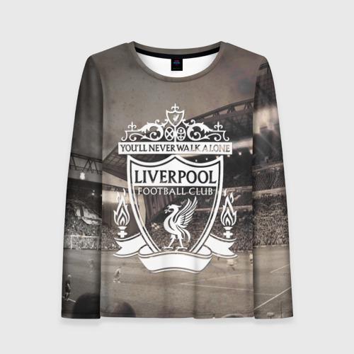 Женский лонгслив 3D Liverpool