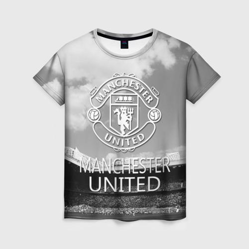 Женская футболка 3D Man Utd