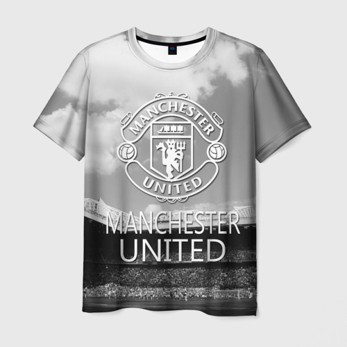 Мужская футболка 3D Man Utd