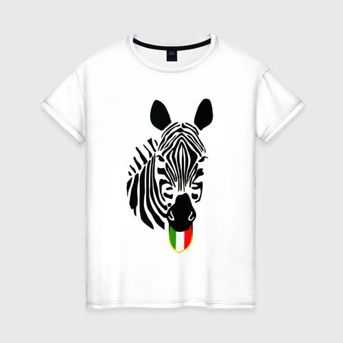 Женская футболка хлопок Juventus Football Club