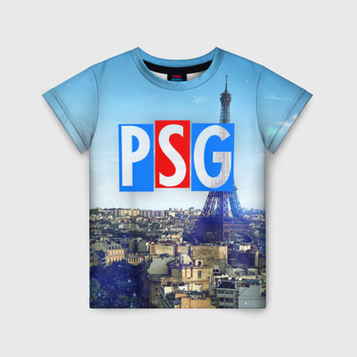 Детская футболка 3D PSG3