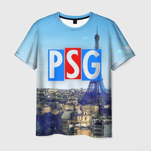 Мужская футболка 3D PSG3
