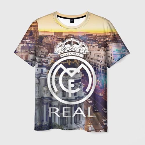Мужская футболка 3D Real 2