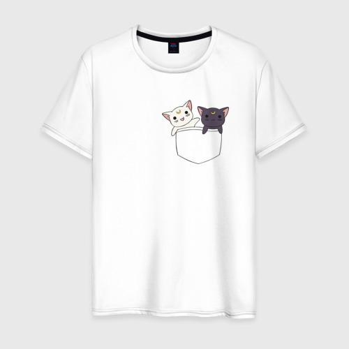 Мужская футболка хлопок Кисы
