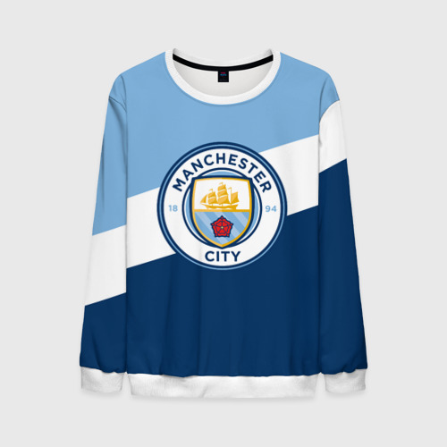 Мужской свитшот 3D Manchester city 2018 Colors