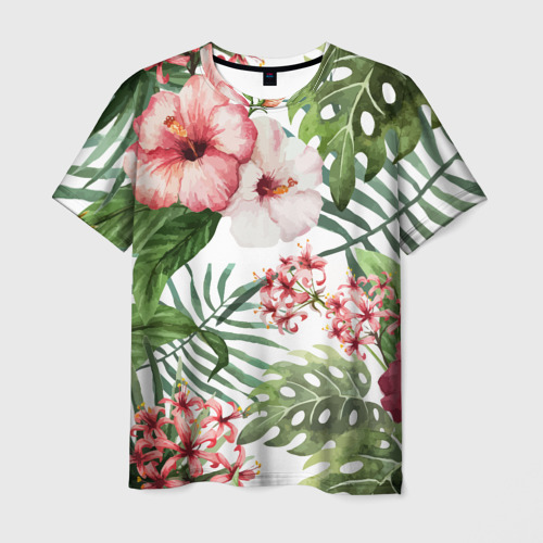 Мужская футболка 3D Таинственный остров