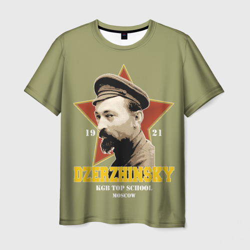 Мужская футболка 3D Высшая школа КГБ