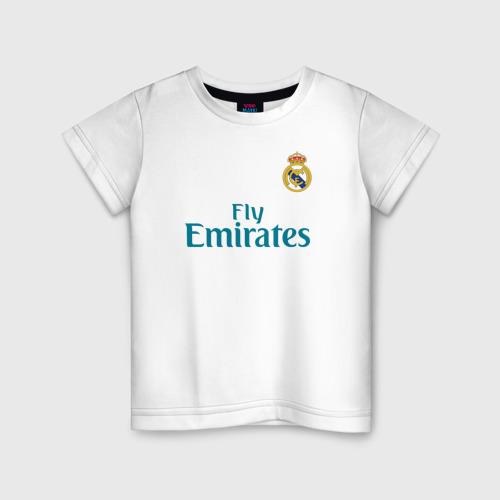 Детская футболка хлопок Криштиану Роналду Форма 2018