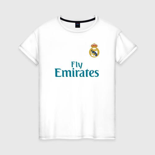 Женская футболка хлопок Криштиану Роналду Форма 2018