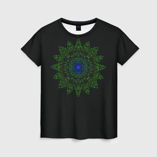 Женская футболка 3D Ornamental