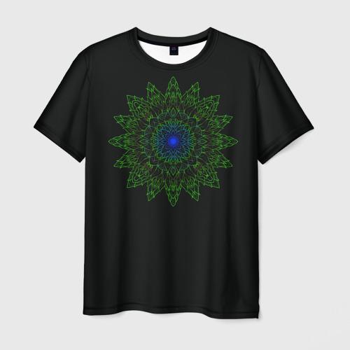Мужская футболка 3D Ornamental