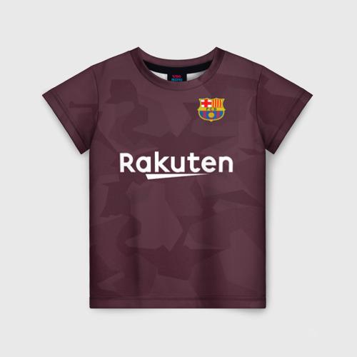 Детская футболка 3D Alternative Messi 2018