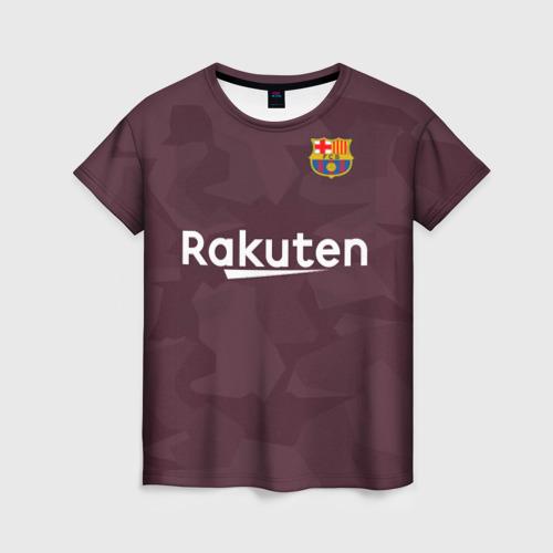 Женская футболка 3D Alternative Messi 2018