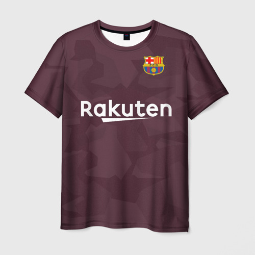 Мужская футболка 3D Alternative Messi 2018