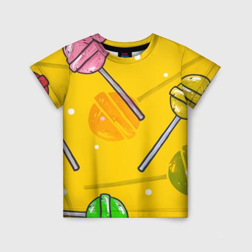 Детская футболка 3D Чупа-Чупс