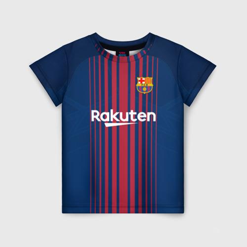Детская футболка 3D Неймар Форма Барселона 2018