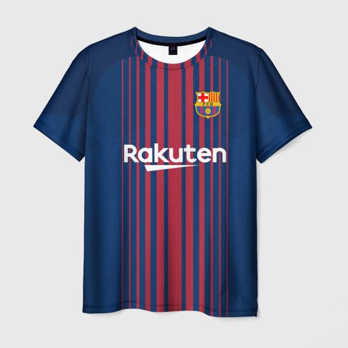 Мужская футболка 3D Неймар Форма Барселона 2018