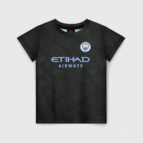 Детская футболка 3D Manchester City Kit Third