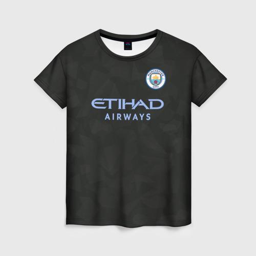 Женская футболка 3D Manchester City Kit Third
