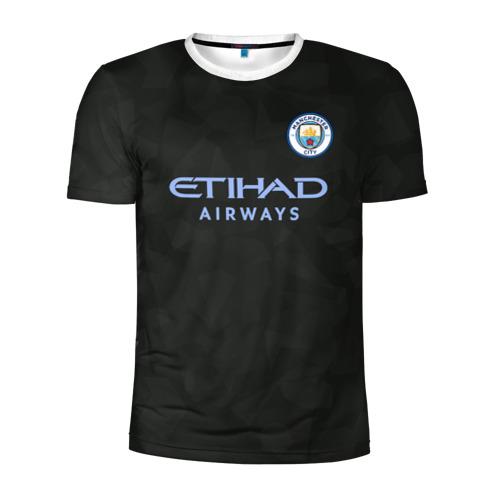 Мужская футболка 3D спортивная Manchester City Kit Third